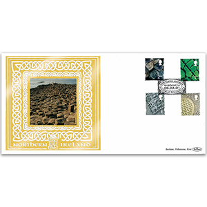 2001 Northern Ireland Pictorial Definitives GOLD 500