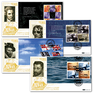 2001 Unseen & Unheard PSB GOLD 500 - Set of 4 Covers
