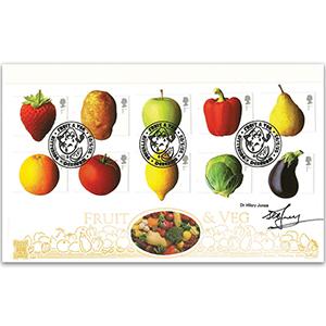2003 Fruit and Vegetables GOLD 500 - Signed by Dr. Hilary Jones