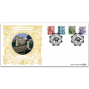 2003 English Pictorial Definitives GOLD 500