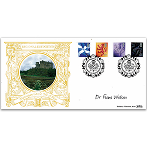 2003 Scotland Regional Definitives GOLD 500 Signed Dr Fiona Watson