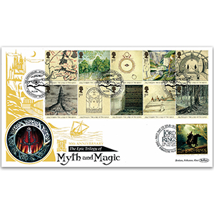 2004 Lord of the Rings 50th GOLD 500 - Doubled Isle of Man