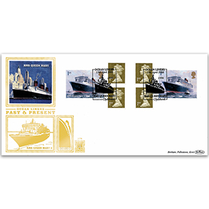 2004 Ocean Liners Retail Booklet GOLD 500