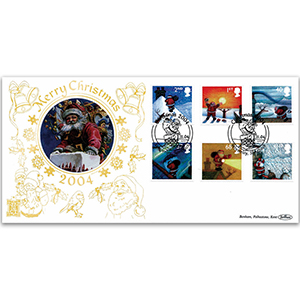 2004 Christmas Stamps GOLD 500