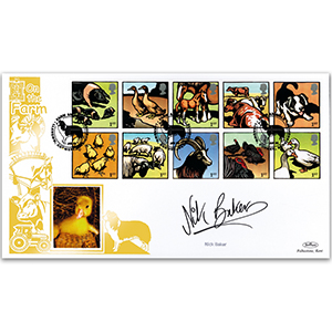2005 Farm Animals GOLD 500 - Signed by Nick Baker