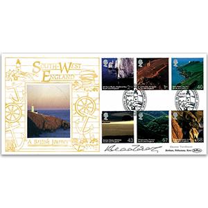 2005 British Journey: South-West England GOLD 500 - Signed Eleanor Tomlinson