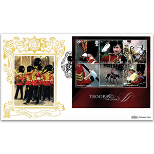 2005 Trooping the Colour M/S GOLD 500