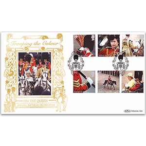 2005 Trooping the Colour Stamps GOLD 500