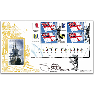 2005 White Ensign PSB Pane GOLD 500 - Signed by Samuel West