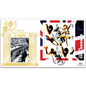 2005 London 2012 M/S GOLD 500