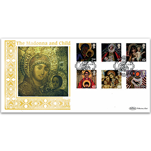 2005 Christmas Stamps - Madonna & Child GOLD 500