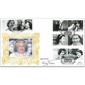 2006 Queen's 80th Birthday GOLD 500 - Signed by Hugo Vickers