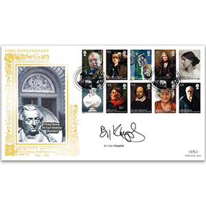 2006 National Portrait Gallery GOLD 500 - Signed by Sir Ben Kingsley