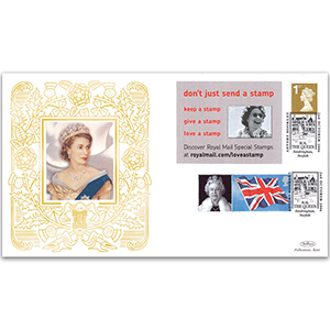 2006 Royal Mail Advert Booklet No.4 GOLD 500