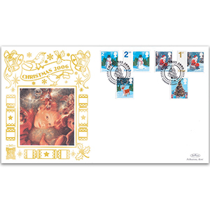 2006 Christmas Stamps GOLD 500