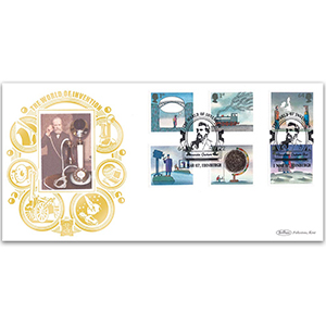 2007 World of Invention Stamps GOLD 500