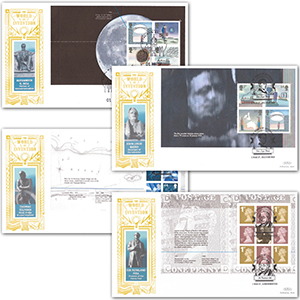 2007 World of Invention PSB GOLD 500 - Set of 4