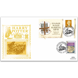2007 Harry Potter Booklet GOLD 500