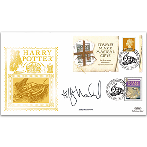 2007 Harry Potter Booklet GOLD 500 - Signed By Kelly Macdonald