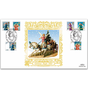 2007 Christmas Stamps GOLD 500