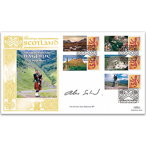 2007 Glorious Scotland Smilers GOLD 500 - Cover 2 - Signed by The Rt. Hon. Alex Salmond MP