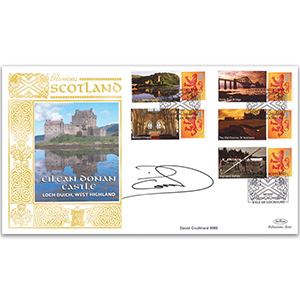 Glorious Scotland Smilers Gold 500 Cover 1 signed David Coulthard MBE