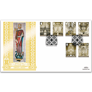 2008 Cathedrals Stamps GOLD 500