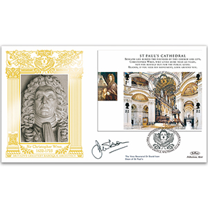 2007 Cathedrals M/S GOLD 500 Cover - Signed By Dr David Ison, Dean of St Pauls