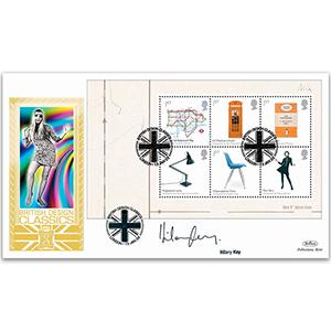 2009 Design Classics PSB GOLD 500 - Pane B - Signed by Hilary Kay