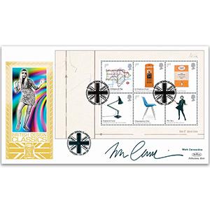 2009 Design Classics PSB GOLD 500 Pane B - Signed by Mark Carwardine