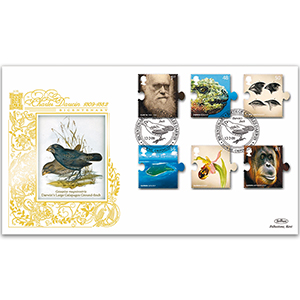 2009 Charles Darwin 200th Stamps GOLD 500