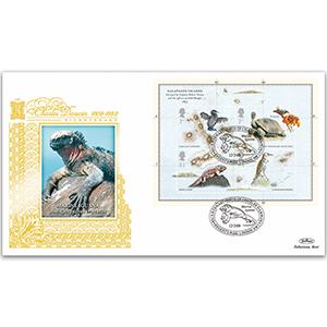 2009 Charles Darwin 200th M/S GOLD 500