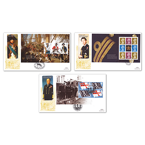 2009 Royal Navy Uniforms PSB GOLD 500 - Set of 3
