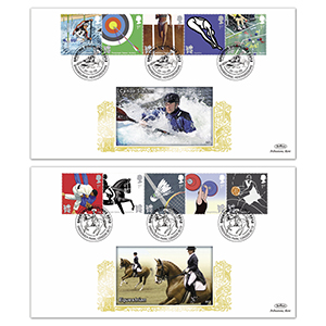2009 Olympic & Paralympic Games Stamps GOLD 500 - Pair