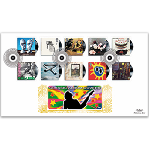 2010 Classic Album Covers Stamps GOLD 500