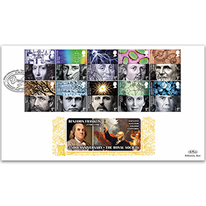 2010 Royal Society 350th Stamps GOLD 500