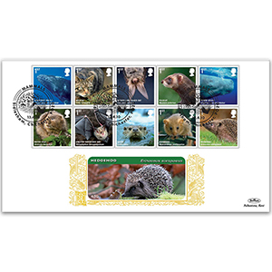 2010 Mammals Stamps GOLD 500