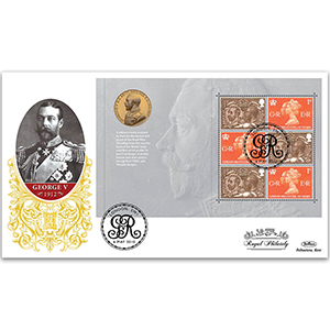 2010 Festival of Stamps PSB GOLD 500 - Military Medal Pane