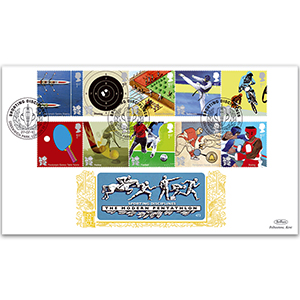 2010 Olympic & Paralympic Games Stamps GOLD 500