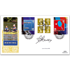 2010 Olympic & Paralympic Games Retail Booklet No.3 GOLD 500 - Signed by Lauren Rowles MBE