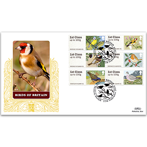 2010 Post & Go Birds of Britain No. 1 GOLD 500