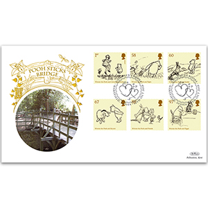 2010 Winnie the Pooh Stamps GOLD 500