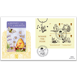 2010 Winnie the Pooh M/S GOLD 500 Cover