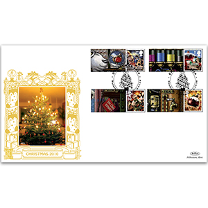 2010 Christmas Generic Sheet GOLD 500