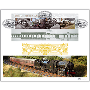 2011 Classic Locomotives of England M/S GOLD 500