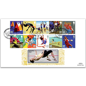 2011 Olympic and Paralympic Games Stamps Series 3 GOLD 500
