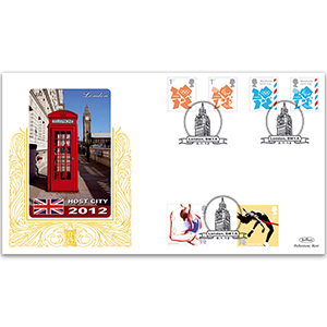 2012 London Olympic and Paralympic Games Definitives GOLD 500 Cover