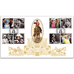 2012 Diamond Jubilee Stamps GOLD 500