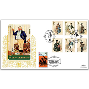 2012 Charles Dickens Stamps GOLD 500