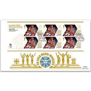 2012 Gold Medal Winners M/S GOLD 500 - Jessica Ennis - Women's Heptathlon